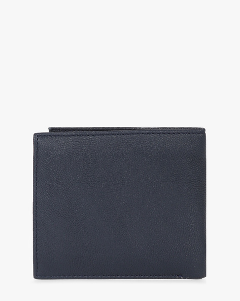Genuine Leather Bi-Fold Wallet By UNITED COLORS OF BENETTON ( Blue )