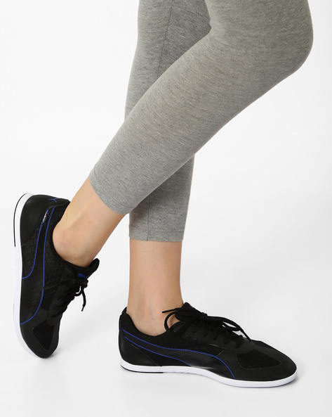 Modern Soleil MU Casual Shoes By Puma ( Black )