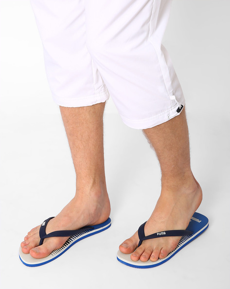 Sam DP Printed Flip-Flops By Puma ( Blue )