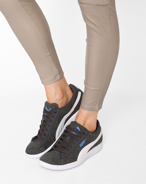 Modern Soleil Jersey Casual Shoes By Puma ( Black )