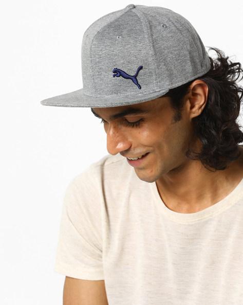 Stretchfit Cap With Flat Visor By Puma ( Grey )