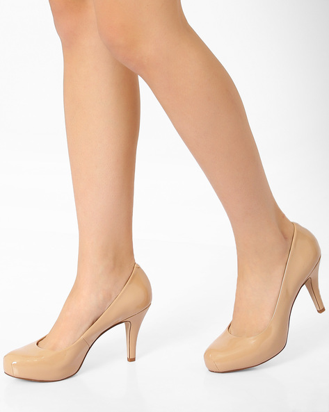 Round-Toe Heeled Pumps By STEVE MADDEN ( 485 )