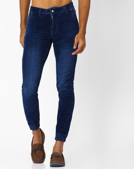 Lightly Washed Slim Fit Jeans By Killer ( Indigo ) - 460028320002