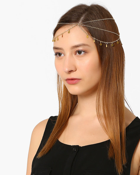 Layered Hair Accessory By Fayon ( Gold )
