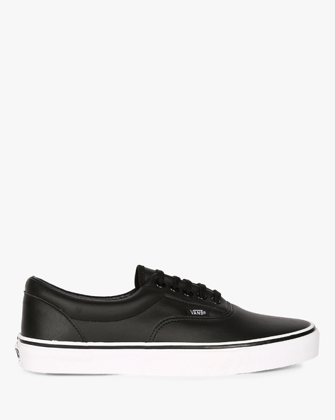 Lace-Up Casual Shoes By Vans ( Black )