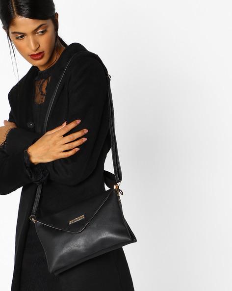 Serena Envelope Sling Bag By CAPRESE ( Black )
