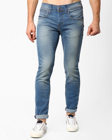 511 Slim Fit Light-Wash Jeans By LEVIS ( Blue )