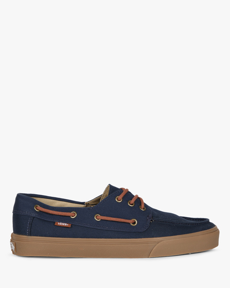 Chauffeur SF Canvas Casual Shoes By Vans ( Blue )