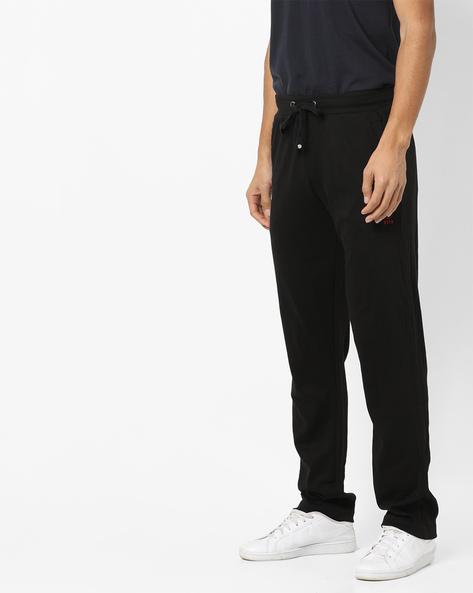 Cotton Pyjamas With Drawstring WaistS By U.S. Polo Assn. ( Black )