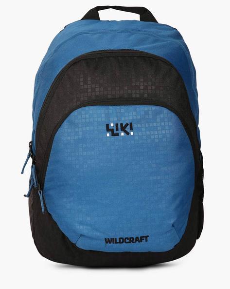 Bricks Water-Resistant Backpack By Wildcraft ( Blue )