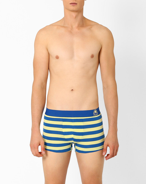 P17 DI Striped Trunks By Under Colors Of Benetton ( Lightblue )