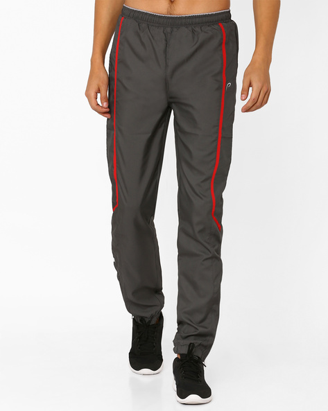 Woven Track Pants With Zip Detail By PROLINE ( Darkgrey )