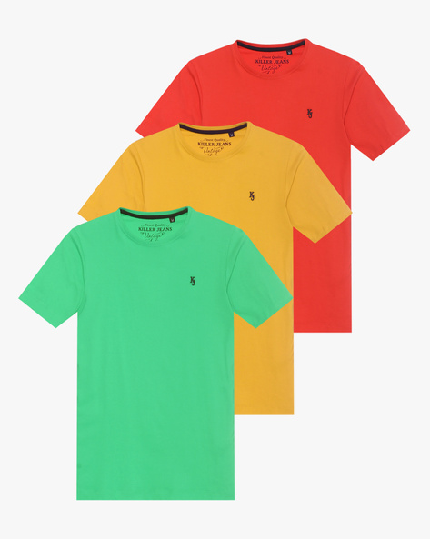 Pack Of 3 T-shirts By Killer ( Assorted )