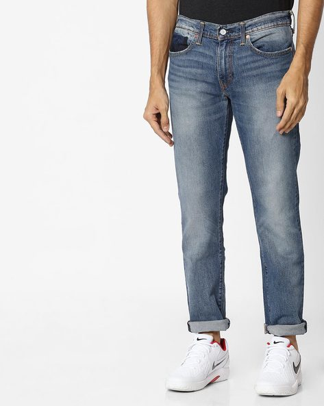 511 Mid-Rise Slim Fit Jeans By LEVIS ( Blue ) - 460098510002
