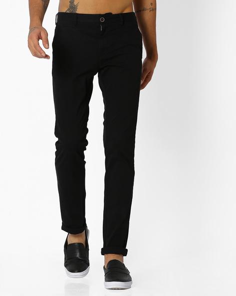 Massimo Chino Trousers By NETPLAY ( Black )