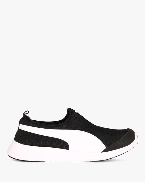ST Trainer Evo DP Slip-On Sports Shoes By Puma ( Black )