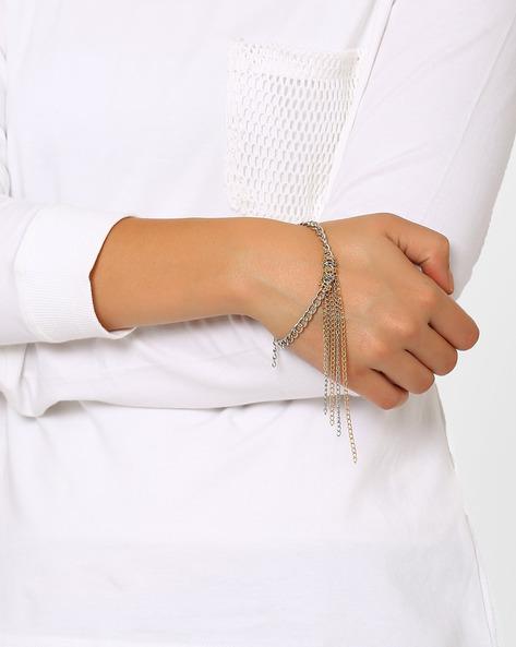 Tassel Step Bracelet By Style Fiesta ( Silvergold )