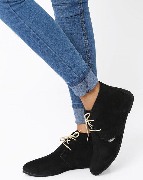 Desert Boots By Carlton London ( Black )