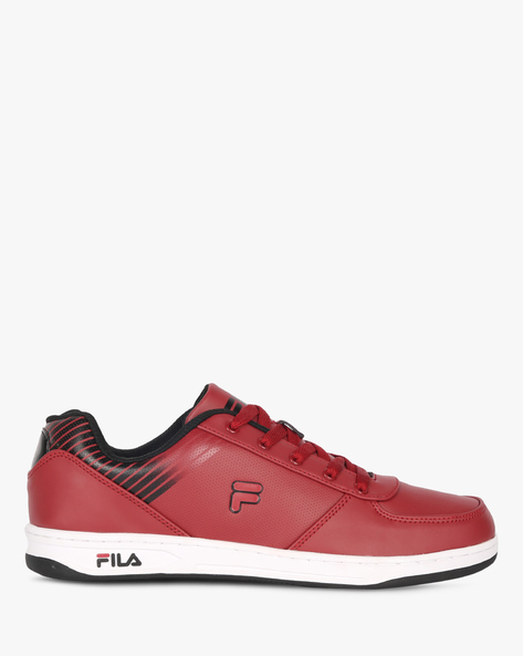 Mack Panelled Lace-Up Shoes By FILA ( Brown )