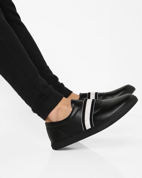 Samuel Slip-On Casual Shoes By Blue Saint ( Black )
