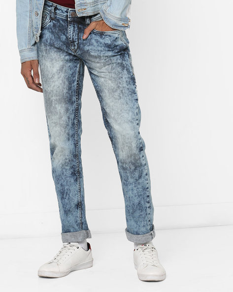 Michael Slim Fit Jeans By FLYING MACHINE ( Blue )