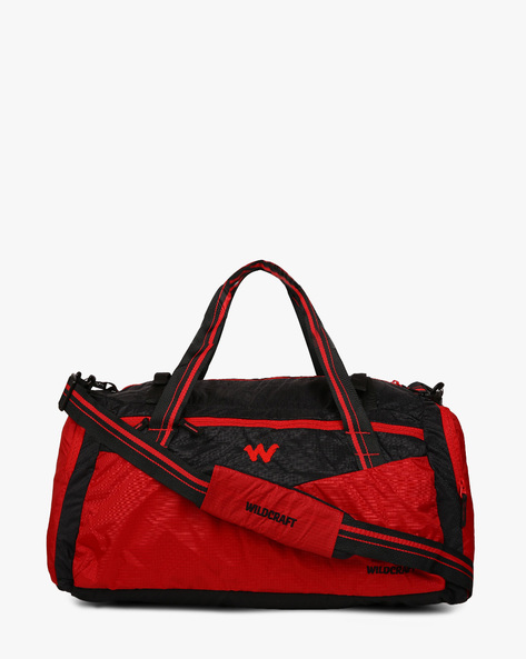 Tzigane Duffel Bag By Wildcraft ( Red )