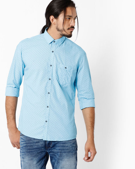 Printed Slim Fit Shirt By Killer ( Assorted )