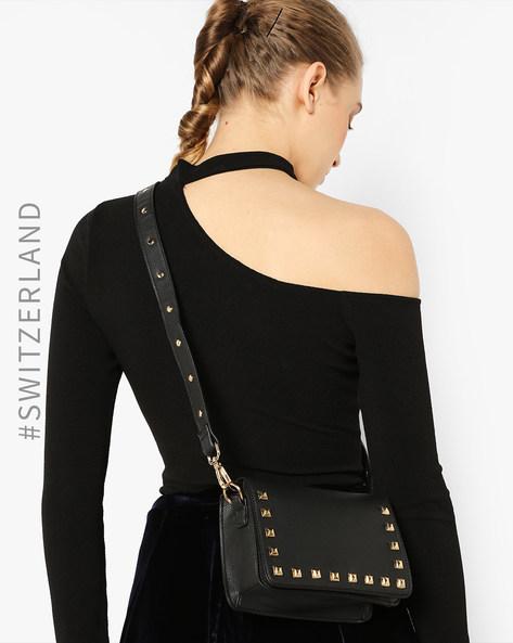 Embellished Sling Bag By TALLY WEiJL ( Black )