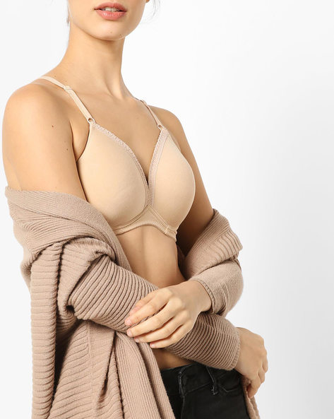 Ultra-Lightly Padded T-shirt Bra By Lovable ( Skin )