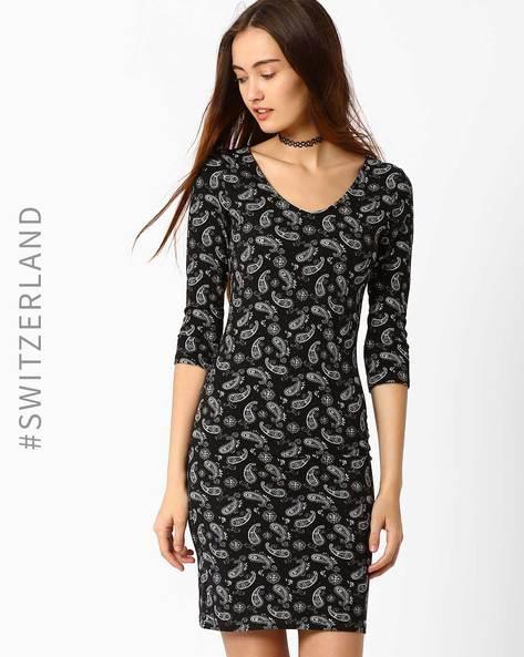 Bodycon Knit Dress By TALLY WEiJL ( Black )