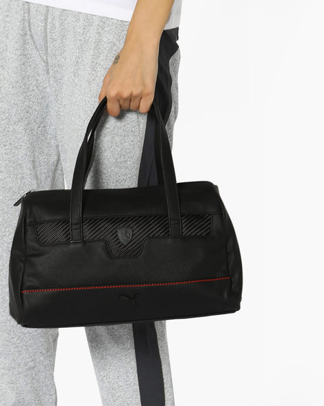 Ferrari LS Handbag By Puma ( Black )