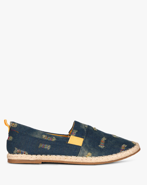 Denim Slip-On Espadrilles By Nuboy ( Denim )