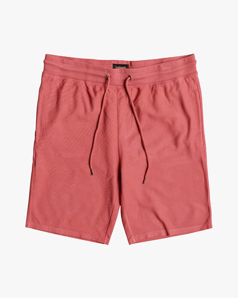 Cotton Shorts With Drawstring Waist By QUIKSILVER ( Mmz0 )