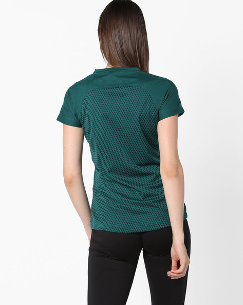 V-neck T-shirt With GoDRY Technology By 2Go ( Seagreen )