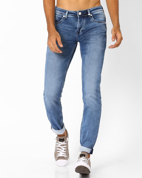 Delemont Slim Fit Jeans By Killer ( Indigo )