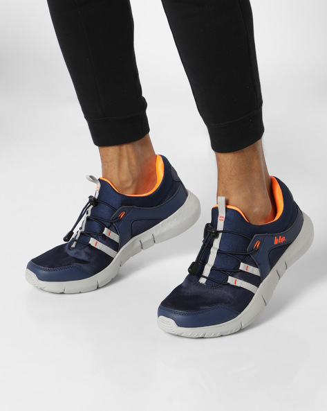 Sport Shoes With Toggle Closure By Lee Cooper ( Navy )