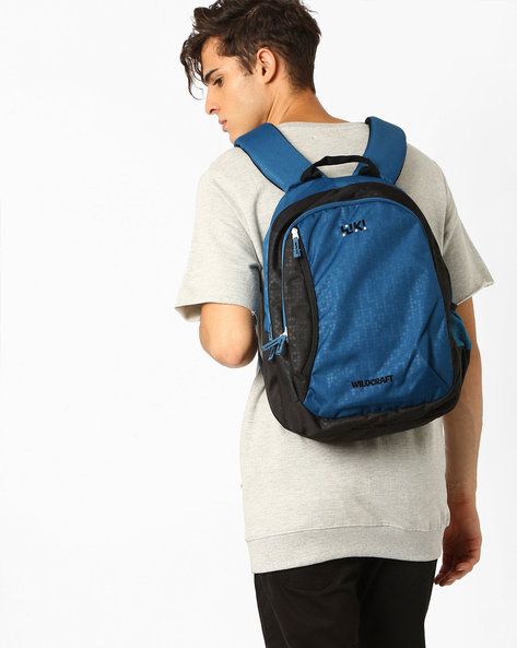 Wiki Bricks 3 Backpack By Wildcraft ( Blue )