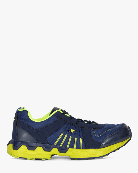Sports Shoes With Contrast Detailing By SPARX ( Navy )