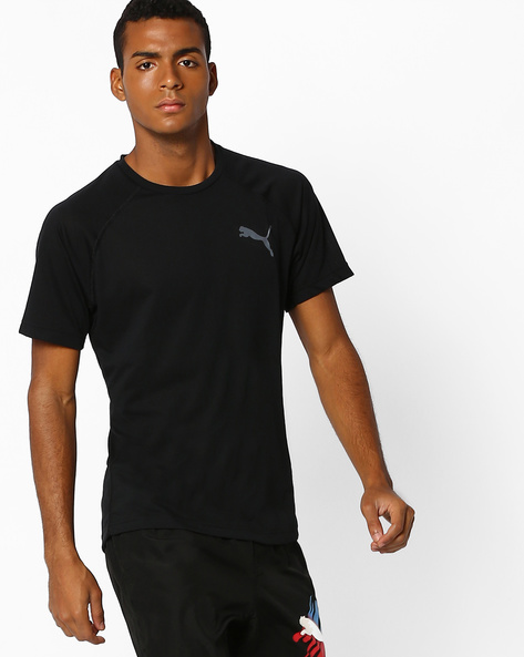 Dri Release Slim Fit T-shirt By Puma ( Black )
