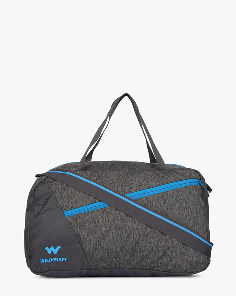 Tinker Water-Resistant Panelled Duffel Bag By Wildcraft ( Black )