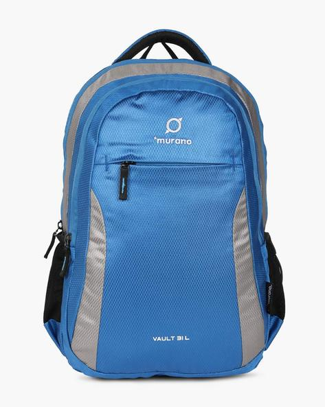 Colourblock Backpack With Adjustable Straps By Murano ( Royalblue )