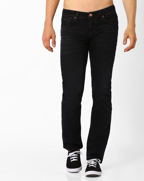 Slim Fit Jeans With Whiskers By Killer ( Assorted )