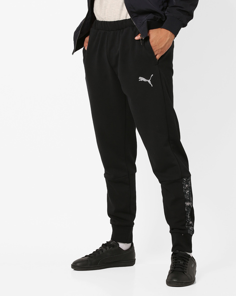Active Hero Knitted Jogger Pants By Puma ( Black )
