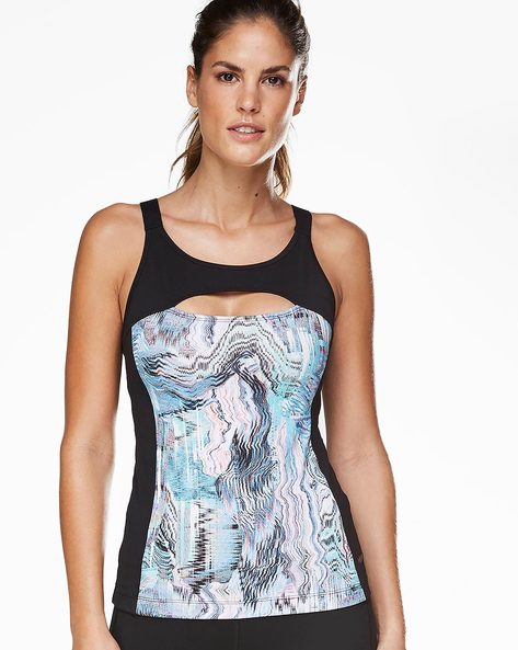 Sleeveless Top With Cut-Out By Hunkemoller ( Blk )