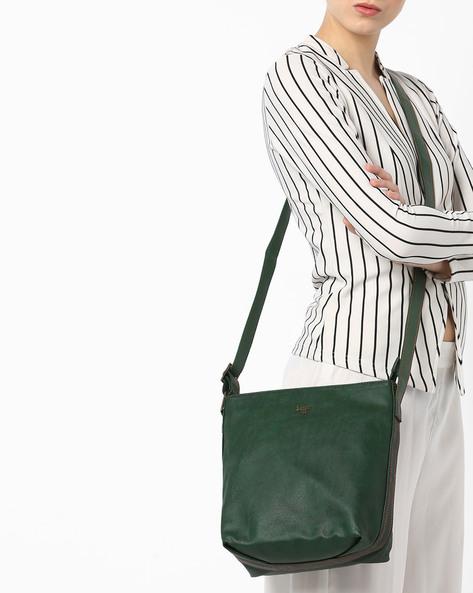 L Hippy Y G Sling Bag By BAGGIT ( Green )