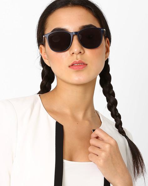 Polarised Cat-Eye Sunglasses By Macv ( Blue ) - 460035840002
