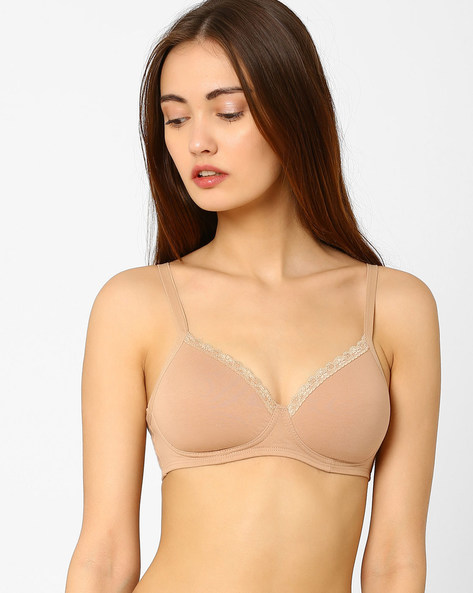 Lightly Padded T-shirt Bra By Amante ( Nude )