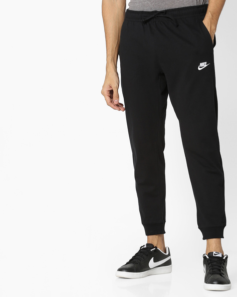 Joggers With Drawstring Fastening By NIKE ( Black )
