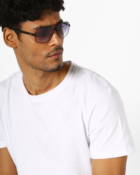 Square Sunglasses With Top Bar By TOMMY HILFIGER ( Grey )