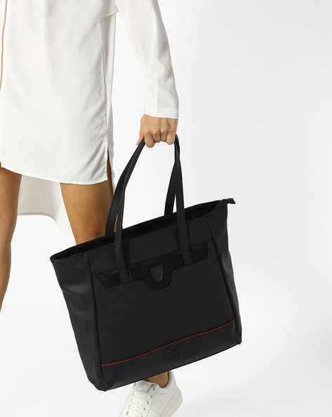 Ferrari LS Shopper Bag By Puma ( Black )